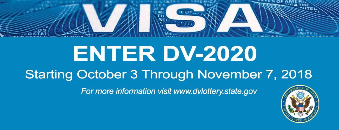 United States Diversity Immigrant Visa Lottery 2020