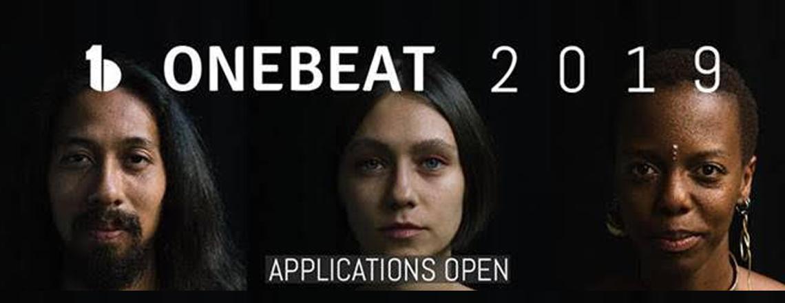 CONSERVEZ LA DATE: OneBeat 2019 Canditature ouverte du 19 novembre au 21 decembre 2018